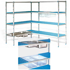 etagere aluminium. Black Bedroom Furniture Sets. Home Design Ideas